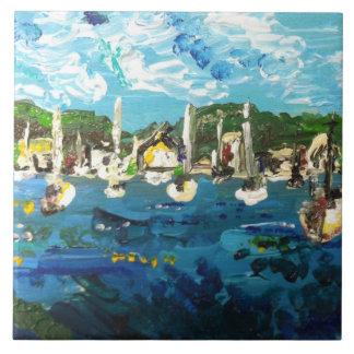 Put-n-Bay Painting #1 Tile