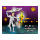 Put on the Whole Armour of God Poster