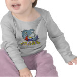 put on your happy face facade elephant shirt