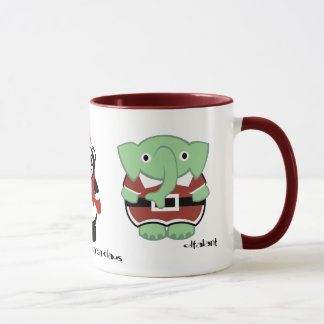 put on your red suit! mug