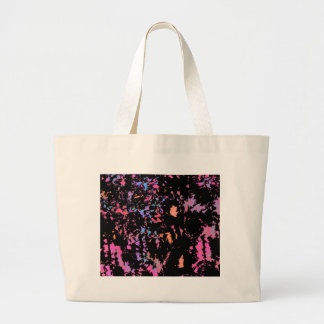 Put some colors large tote bag