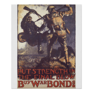 Put strenght in the final blow_Propaganda Poster