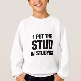 Put the Stud in Studying Sweatshirt