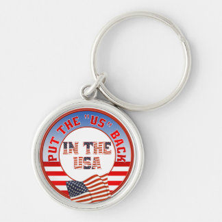 Put US back in USA Keychain