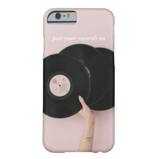 Put Your Records On IPhone 6/6S Case