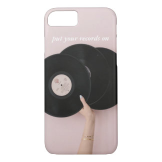 Put Your Records On IPhone 7 Case