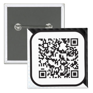 Put your Scannable QR code on these 2 Inch Square Button
