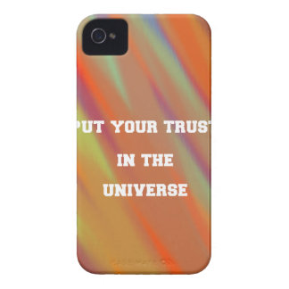 Put your trust in the universe Case-Mate iPhone 4 cases