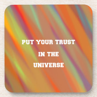 Put your trust in the universe coaster