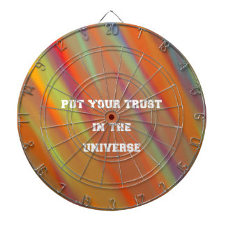 Put your trust in the universe dartboard