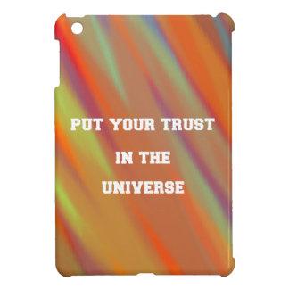 Put your trust in the universe iPad mini case