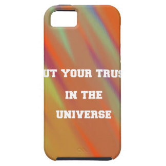 Put your trust in the universe iPhone 5 case