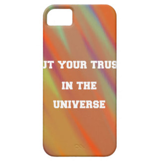 Put your trust in the universe iPhone 5 cases