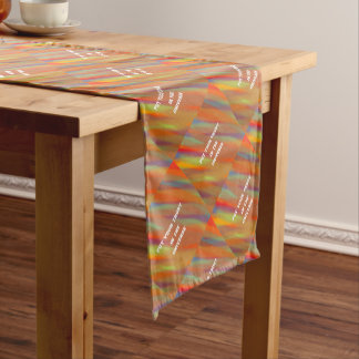 Put your trust in the universe short table runner