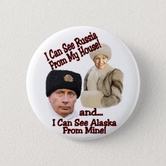 Putin and Palin 2 Inch Round Button