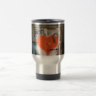 Putin Heart Coffee Travel Mug