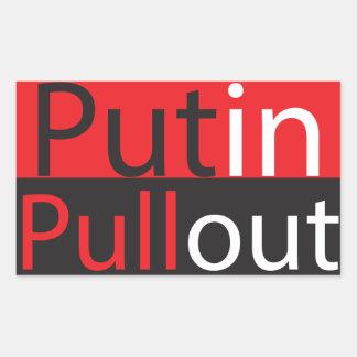 Putin Pullout Sticker