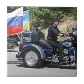 Putin rides a Trike! Tile