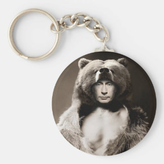 Putin the Bear Keychain