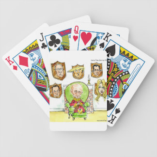 Putin The Hunter Gets Not My President Trump Bicycle Playing Cards