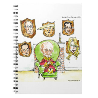 Putin The Hunter Gets Not My President Trump Spiral Notebook