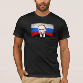 Putin with Flag T-Shirt