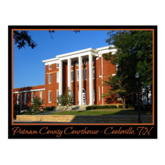 Putnam County Courthouse - Cookeville, TN Postcard