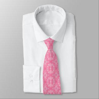 puts on a tie, tie