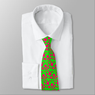 puts on a tie with pea