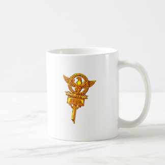 Putting ion banner eagle legion pennant Eagles Coffee Mug