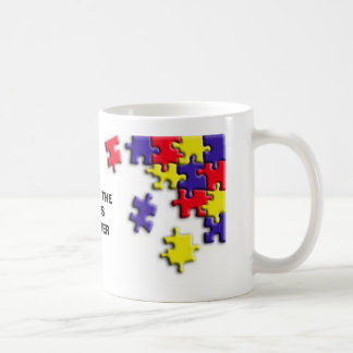 PUTTING THE PIECES TOGETHER COFFEE MUG