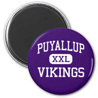Puyallup - Vikings - High - Puyallup Washington Magnet