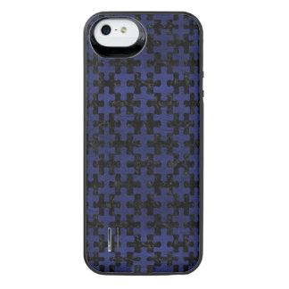 PUZ1 BK-MRBL BL-LTHR iPhone SE/5/5s BATTERY CASE