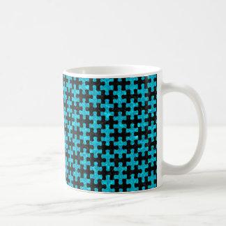 PUZ1 BK-TQ MARBLE COFFEE MUG