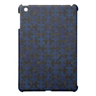PUZZLE1 BLACK MARBLE & BLUE GRUNGE COVER FOR THE iPad MINI