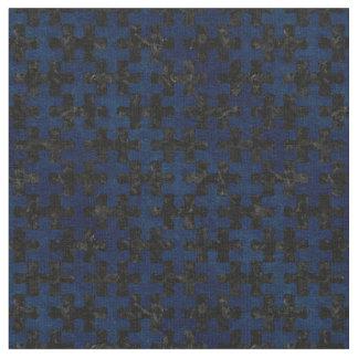 PUZZLE1 BLACK MARBLE & BLUE GRUNGE FABRIC