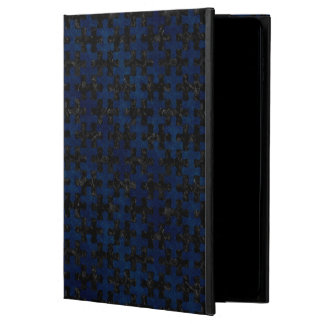 PUZZLE1 BLACK MARBLE & BLUE GRUNGE POWIS iPad AIR 2 CASE