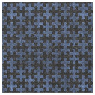PUZZLE1 BLACK MARBLE & BLUE STONE FABRIC
