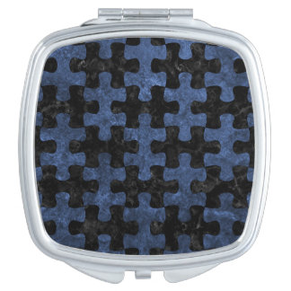 PUZZLE1 BLACK MARBLE & BLUE STONE MIRROR FOR MAKEUP