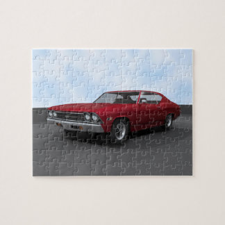 Puzzle: 1969 Chevelle SS: Candy Apple Finish Jigsaw Puzzle