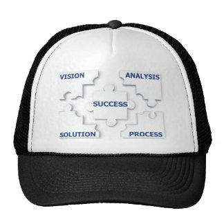 puzzle-9667gul trucker hat