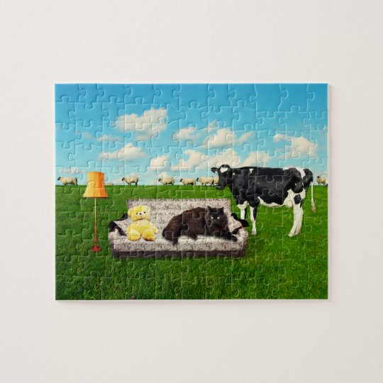 "Puzzle ""a LIVING ROOM IN the COUNTRY """