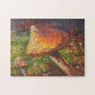 Puzzle Ann Hayes Painting Mushroom