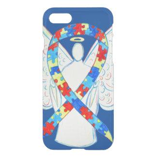Puzzle Awareness Ribbon Angel Custom iPhone 7 Case