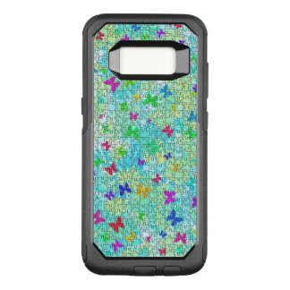 Puzzle Butterflies and Daisies-Colorful by STaylor OtterBox Commuter Samsung Galaxy S8 Case