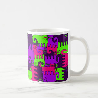 """Puzzle Cats """"Forest Berry 2"""" (NEW) Coffee Mug"""