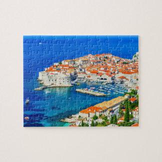 Puzzle, Dubrovnik, Croatia Jigsaw Puzzle