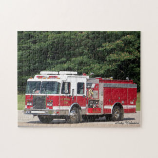 Puzzle - Fire Truck, Atoka, TN