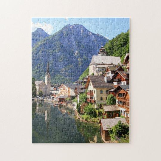 Puzzle Hallstatt of Austria