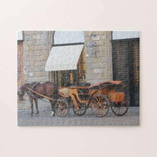 Puzzle--Horse & Carriage Jigsaw Puzzle